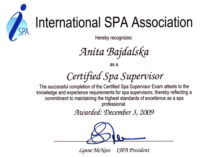 Certyfikat ISPA